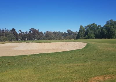 13th green front